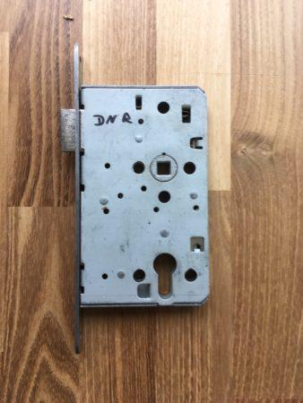 Einsteckschloss (Brandschutz) für Profilzylinder, DIN rechts