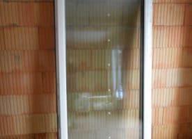 2-flügelige Terrassen/Balkontüren mit Einbaurahmen, 3-fachverglast, 2 Stück
