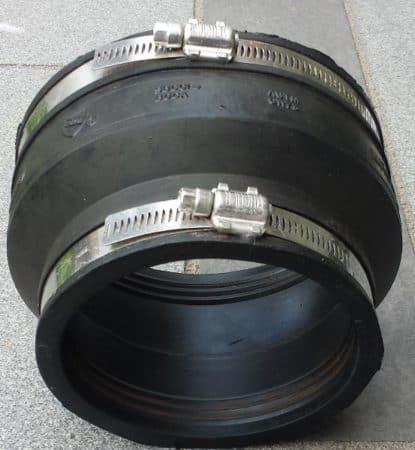 Multiflex-Rohrverbinder Ø 100 – 115 / 125 – 140 mm