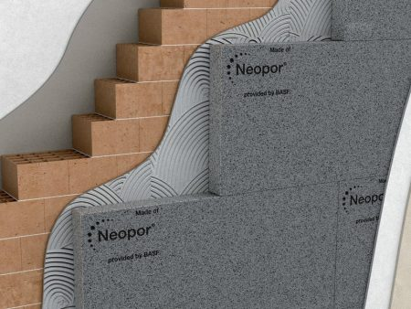 Styropor Fassadendämmung Neopor Wärmedäm 160mm, Basis Paket 100qm