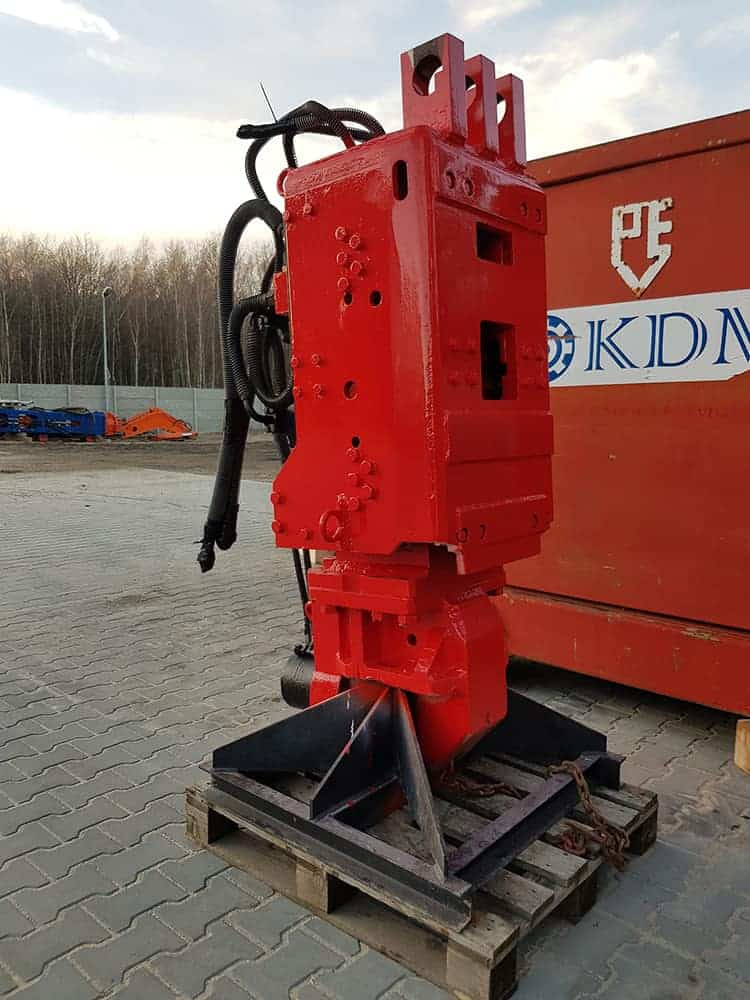 ABI pile driving and extracting vibrator VRZ 300 GL