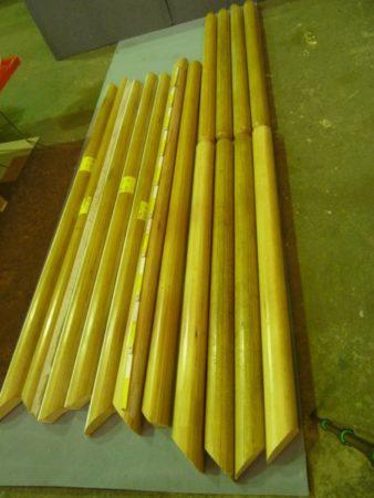 Handlauf für Geländer, Holz für Möbelbau, Kerzenständer, Upcycling