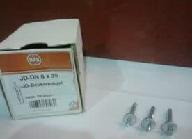 JD-DN Deckennageldübel 6 x 35 mm