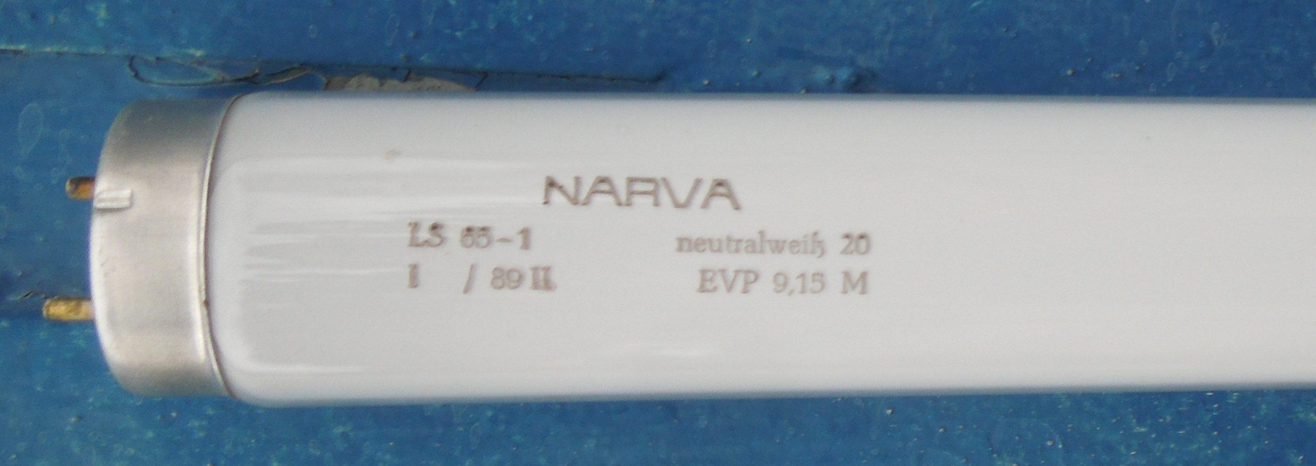 NARVA Leuchtstoffröhren LS 65-1