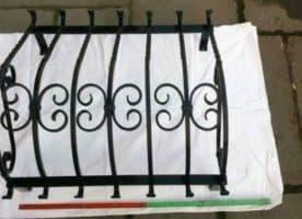 Fenstergitter Schmiedeeisen Gitter  Einbruchschutz