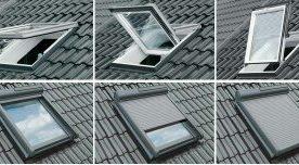 Klapp-Schwing-Dachfenster aus PVC