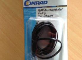 ISDN-Anschlusskabel