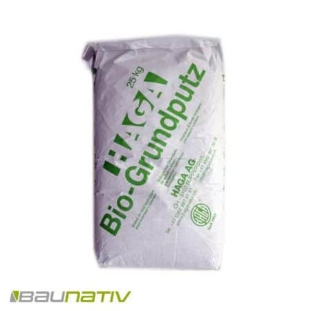 Haga Bio Grundputz, Kalkputz, 74 Säcke á 25kg
