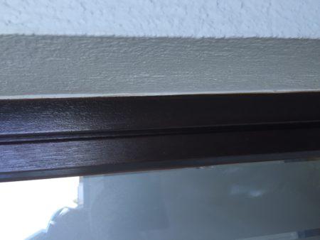 Holztüre mit Verglasung