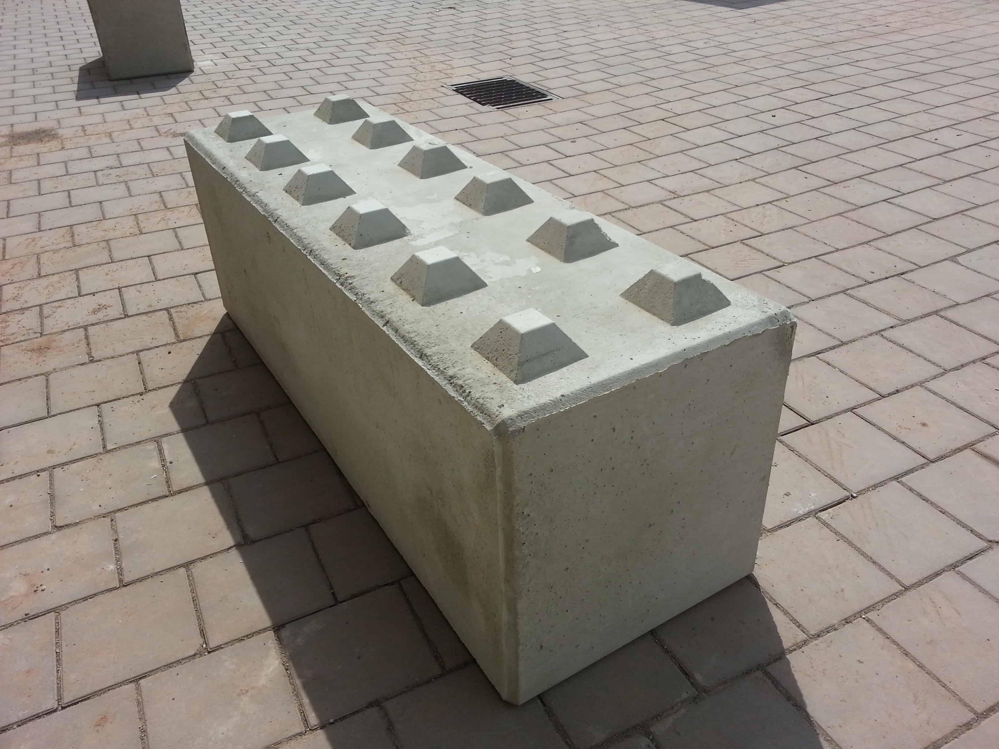 bbloxx beton schnellbausteine betonblocksteine betonblock mit noppen g nstig kaufen im. Black Bedroom Furniture Sets. Home Design Ideas