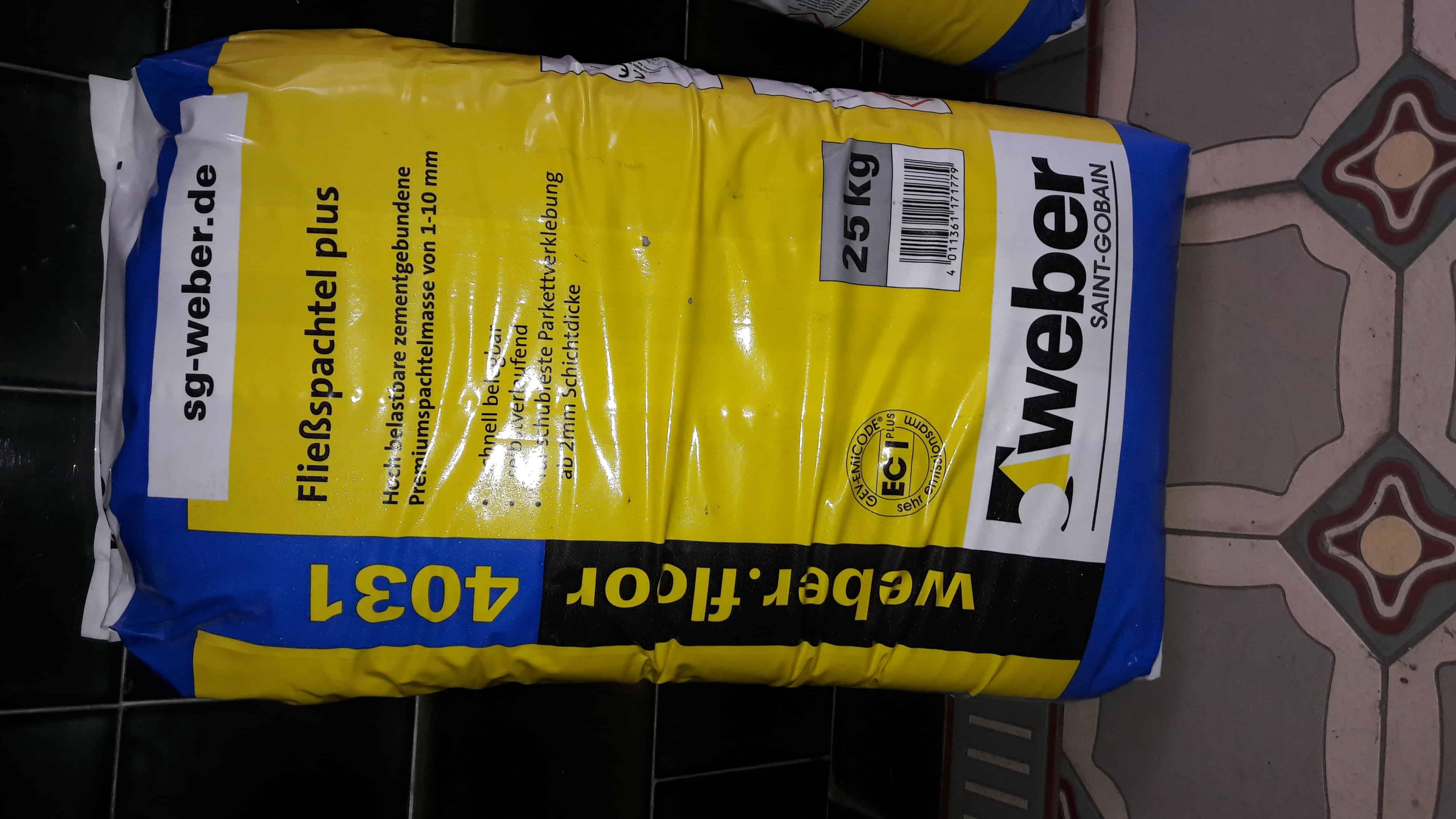Fußboden Günstig Gebraucht ~ Weber floor fußboden ausgleichmasse günstig kaufen im