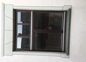 6 Fenster aus Holz