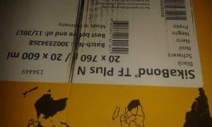 Sika membran p 12 rollen+ sika bond schwarz