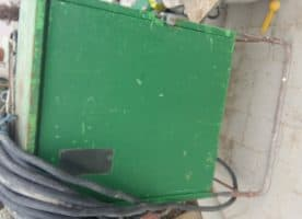 Baustromkasten, Schaltschrank