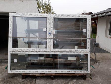Fenster, 3fach Verglasung, Schüco