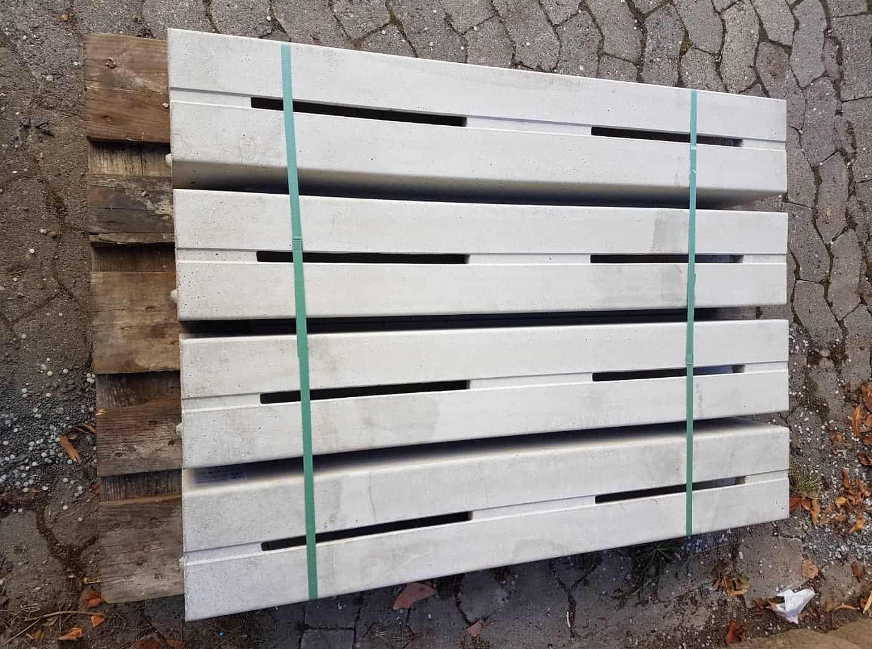 Entwässerungsrinne Schlitzrinne H-Drain 100x16x16 cm