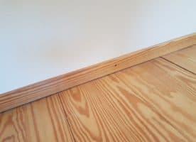 Red Pine Dielen 77.5 m2 + Fußleisten