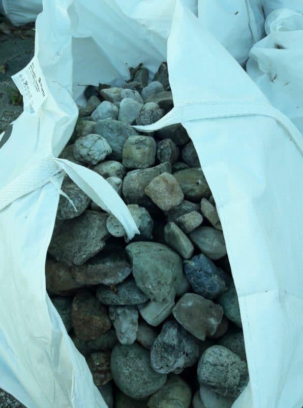 Donaukies, grobkies, 32 bis 200mm in bigpacks