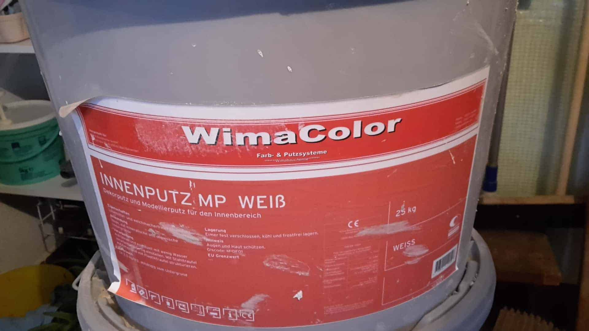 Wima color innenputz MP weiß