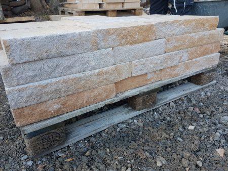 Santuro Mauersteine o. Abdeckplatten Terra Beige Sandstein