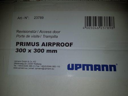 Upmann Revisionstür Primus Airproof 300x300mm weiß