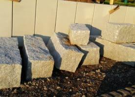 Granit Quader Steine 40×40 in Längen 60-120cm
