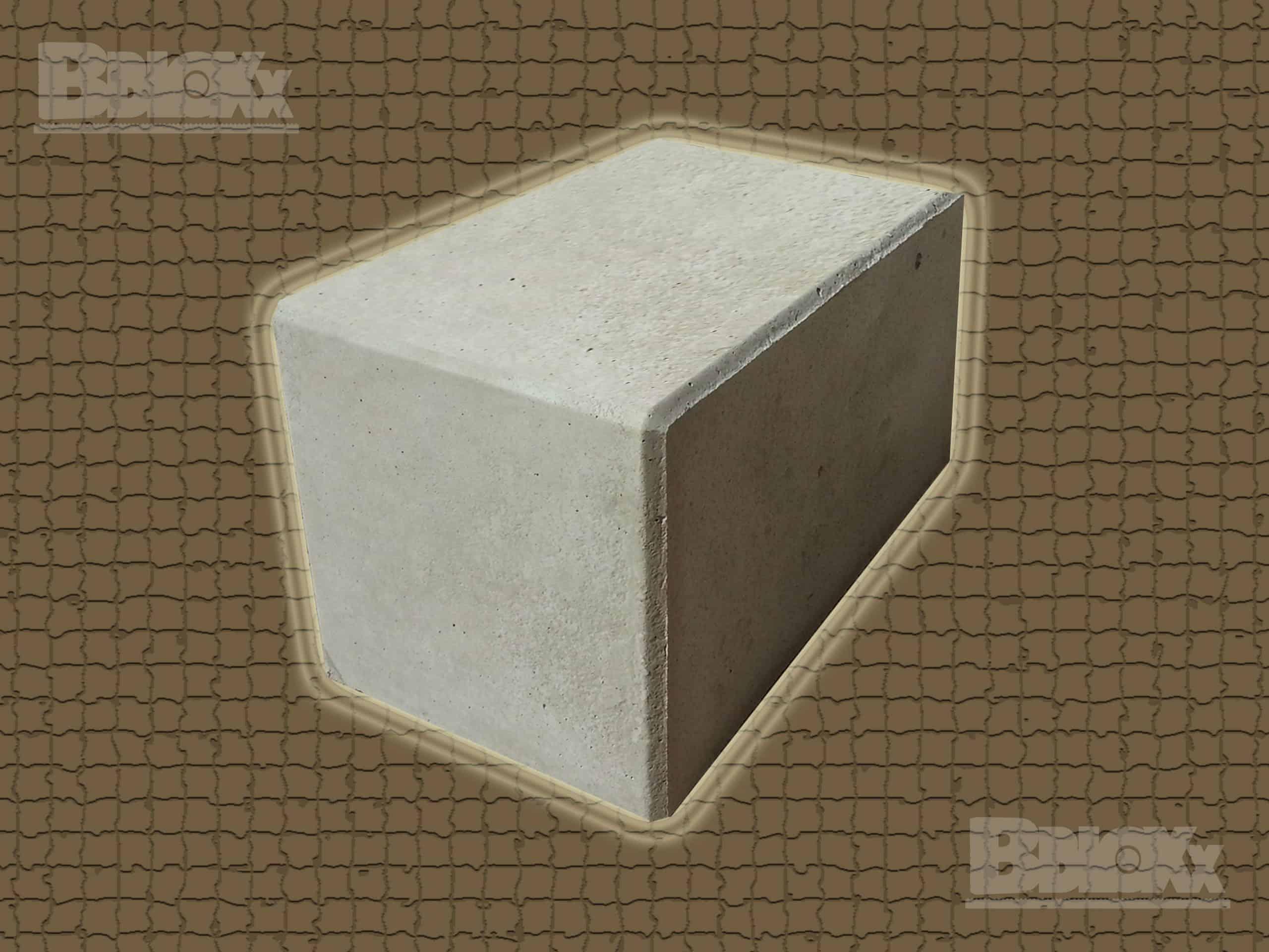 BBloxx-Schnellbaustein | 1.200 x 800 x 800 mm | Beton-Legostein, Betonblock, Beton-Stapelstein