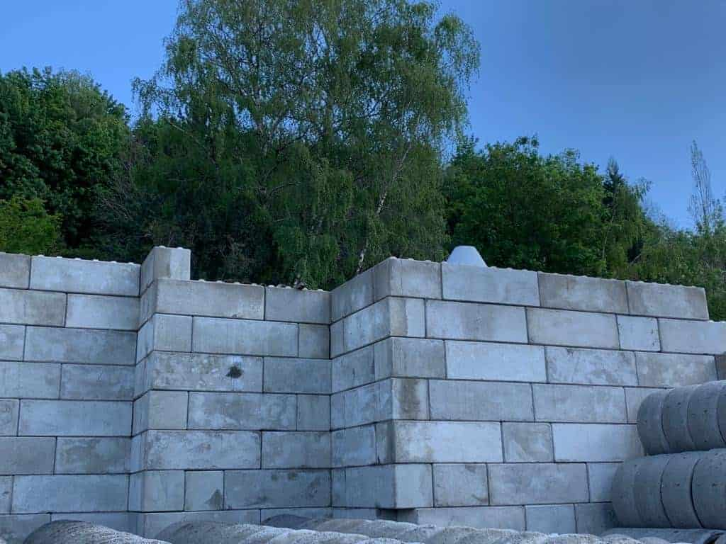 Mauerblöcke / Legosteine