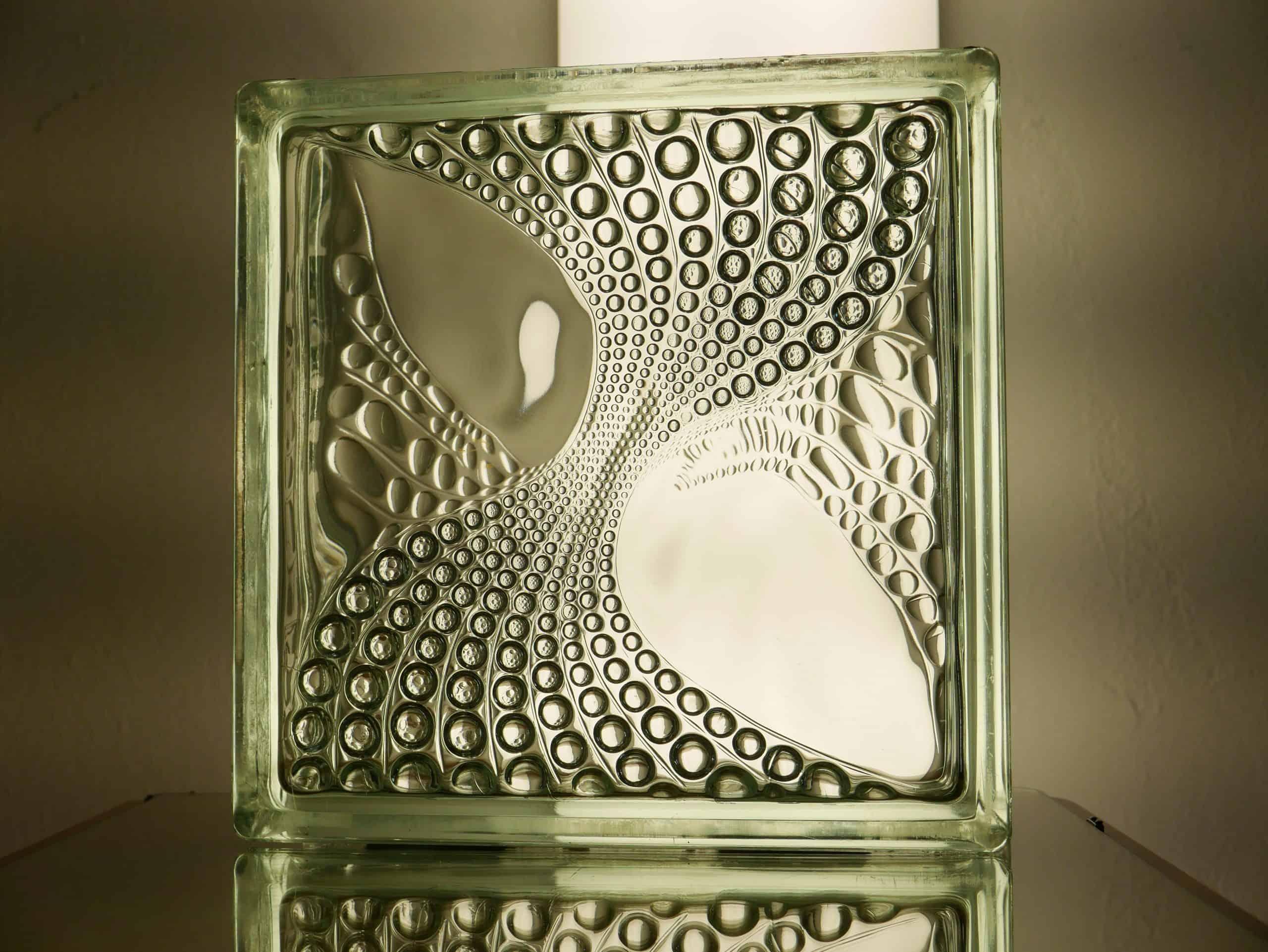 Glasbaustein Glasstein 70 Stück 25x25 cm