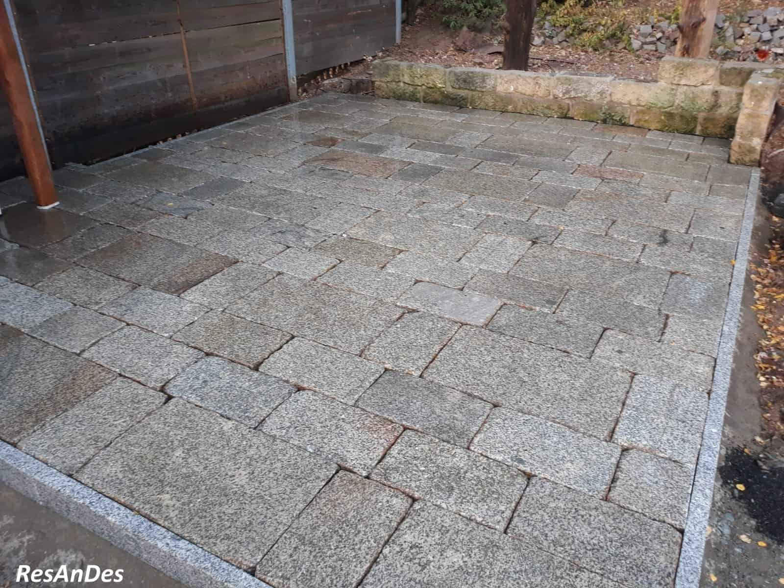 Alte Granitplatten, Gredplatten, Granit, Charlottenburger Platten ...