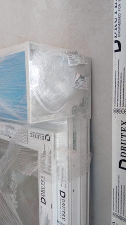 Drutex Doppelfenster + elektr. Rollo