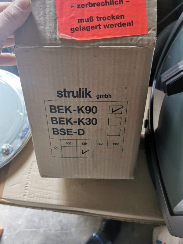 Strulik BEK-K90 125 brandschutzklappen brandschutz Lüftung
