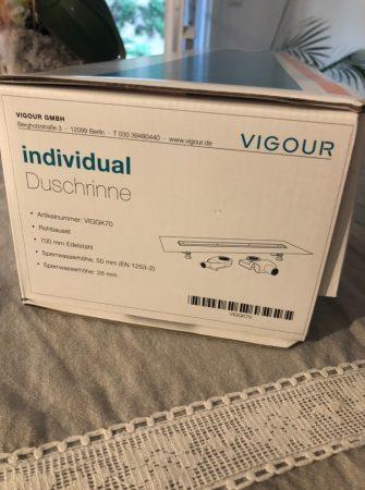 Vigour Duschrinne Individual GK70