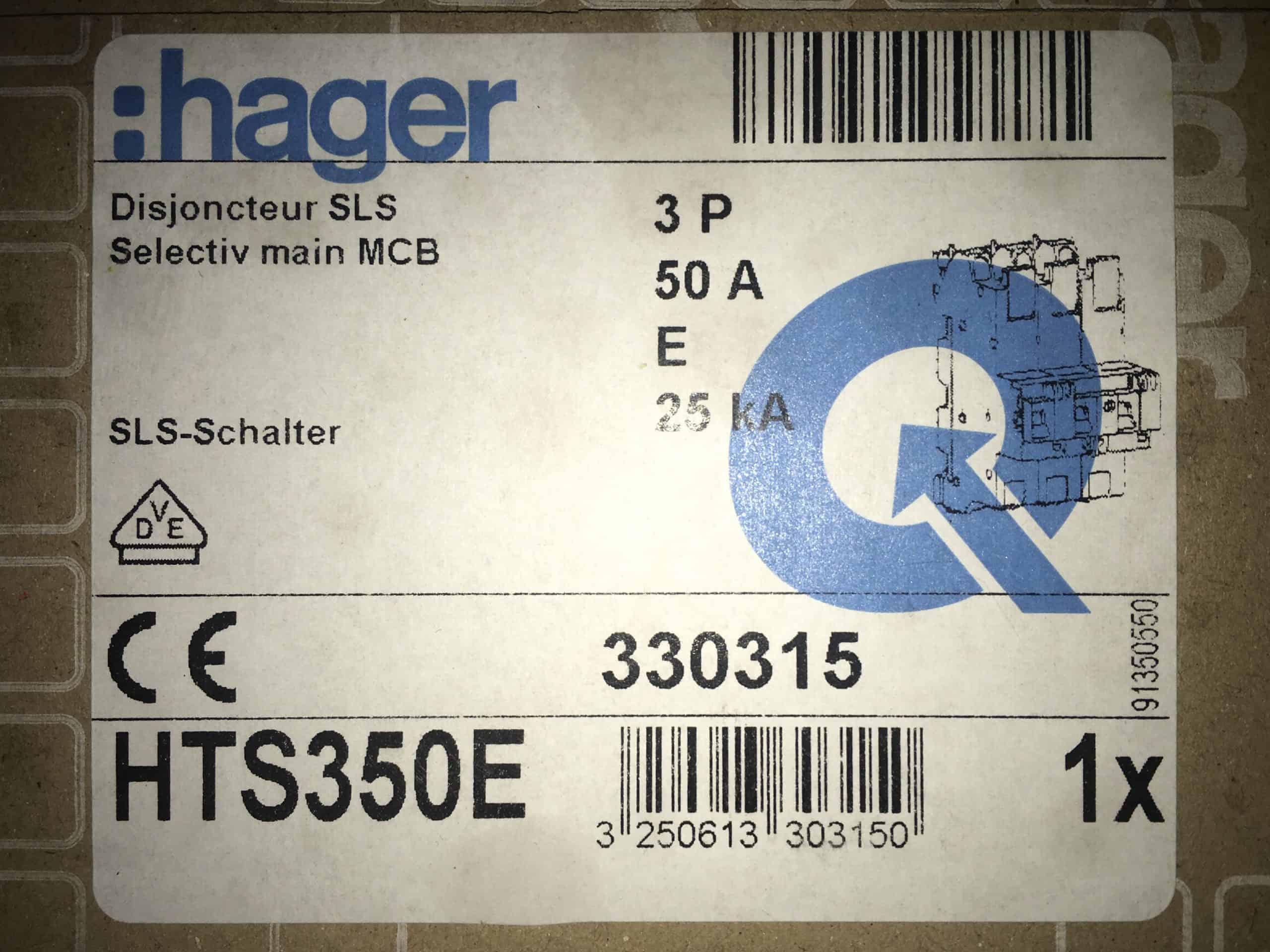 SLS-Schalter HTS350E- 50A