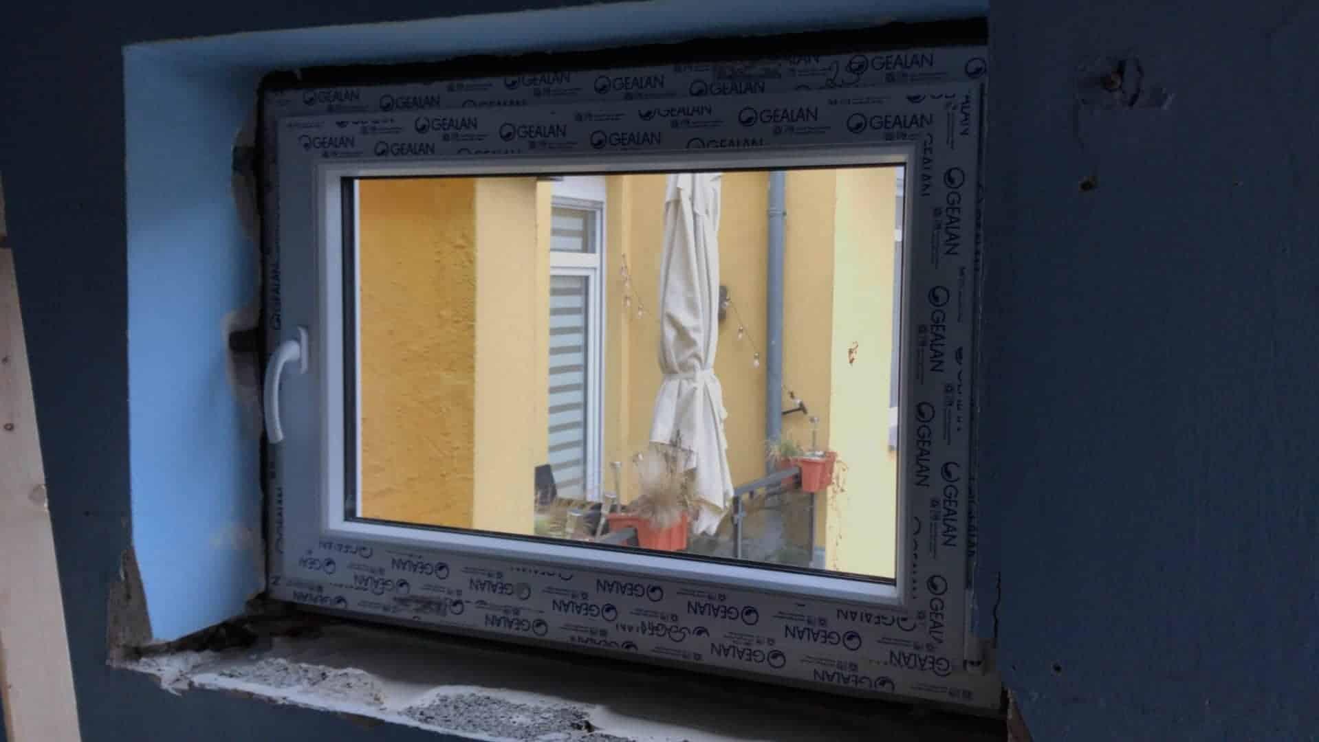 Neue unbenutze Fenster