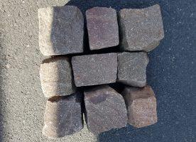 Porphyr Natursteinpflaster 8/11 – Restposten –
