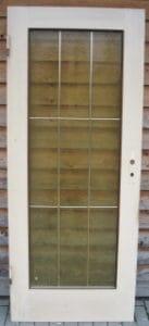 Zimmertür mit Glasfüllung