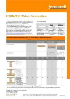 Estrichwabe Fermacell  3 cm
