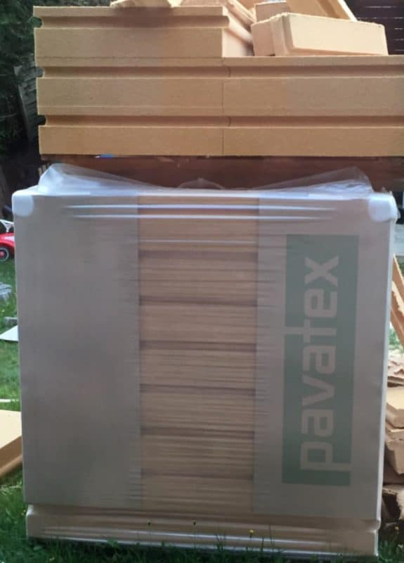 Pavatex Isolair Unterdeckplatte N+F 1800x580x140 mm