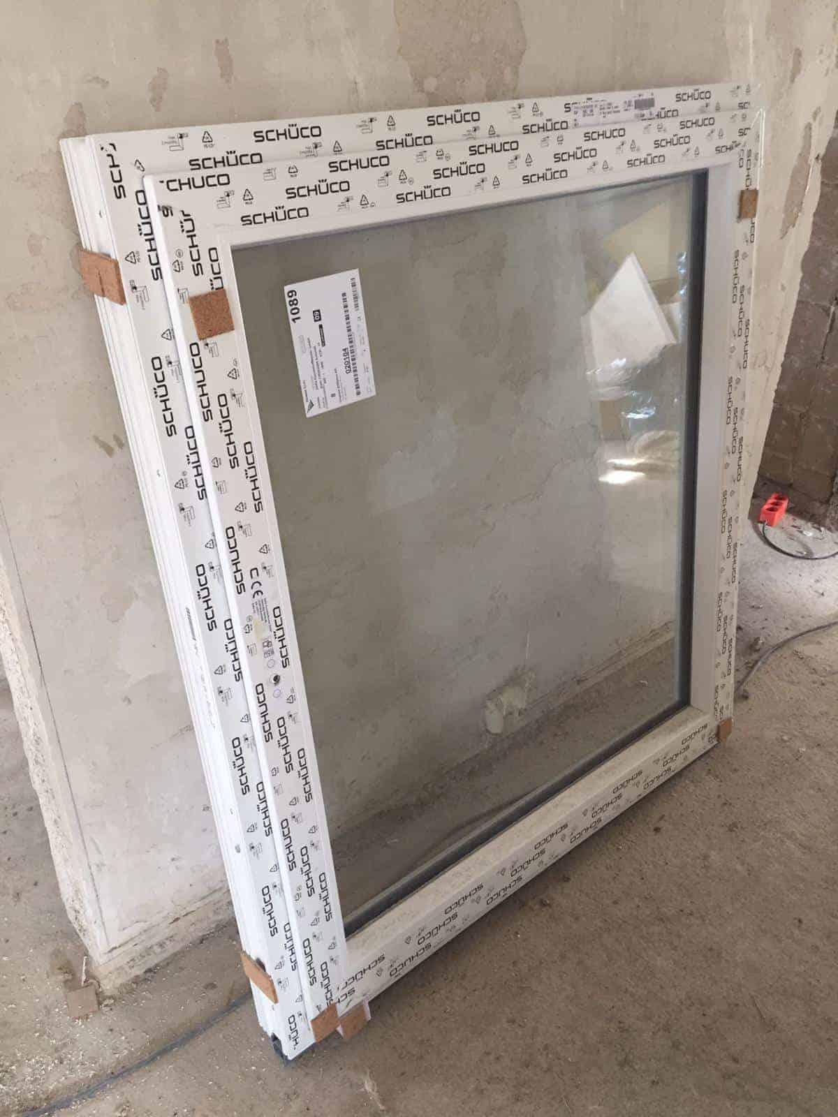 NEU: nagelneues Fenster von Schüco