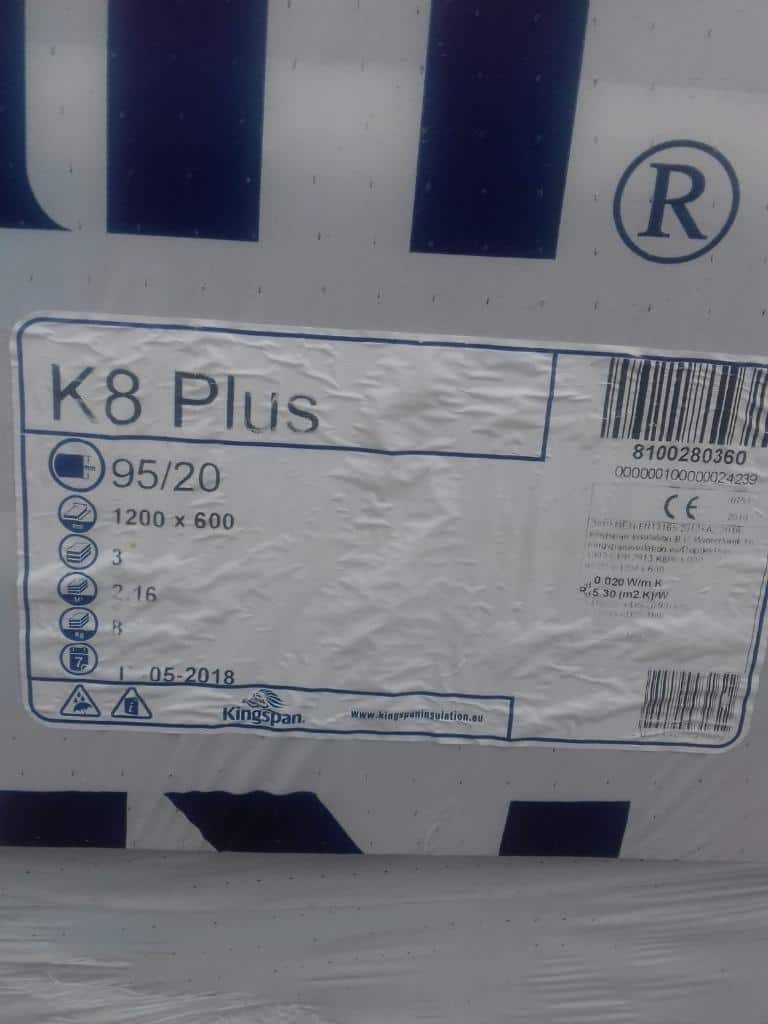 Kingspan K8 Plus Isolationsplatten
