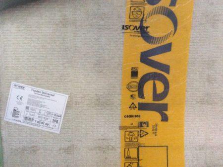 Kellerdeckendämmung ISOVER Mineralstoff/Steinwolle