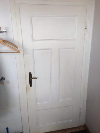 4 echtholz Türen von 1927 ohne Zage mit Beschlägen