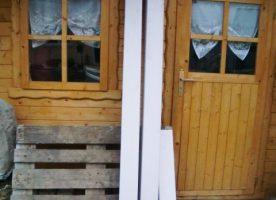 Balken / Leimholzbalken / Brettschichtholz, 12 x 12 cm im Durchmesser,
