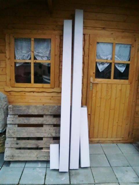 Balken / Leimholzbalken / Brettschichtholz, 12 x 12 cm