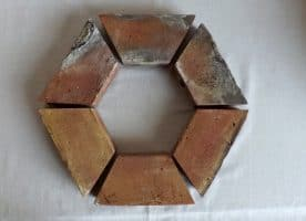 Baumumrandung Baumring Strauchumrandung Beeteinfassung Randsteine Trennsteine  Antikziegel alte Mauersteine Backsteine Rückbausteine Klinker