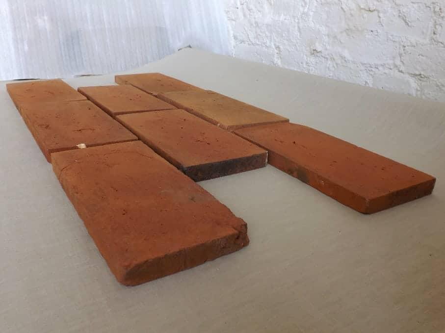 Ziegelstein Bodenplatten Mauersteine Backsteine Bodenziegel ähnl. Klosterformat Ziegelfliesen Landhaus