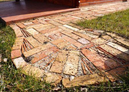 Ziegelpflaster Bodenziegel Pflasterklinker Backstein Pflastersteine Altstadtpflaster Antikpflaster alte Steine Terrassenplatten Garten