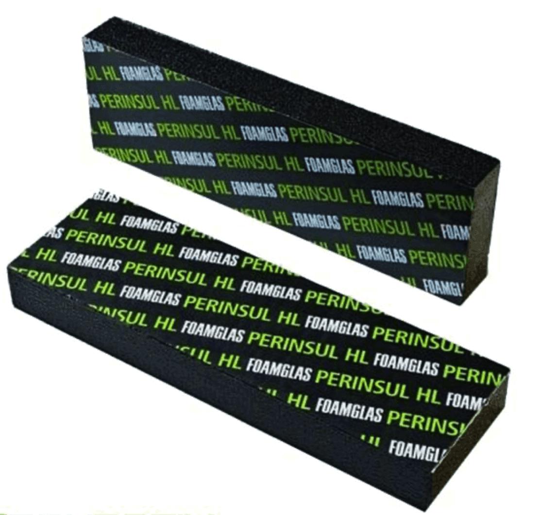 FOAMGLAS Perinsul HL 115x365x450 mm Mauerfussdämmung Dämmstein Mauerfusselement