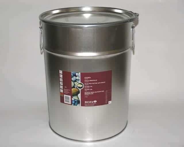 Biofa Steinöl für Estrich/Steinbodenanstrich/Versiegelung 10 l